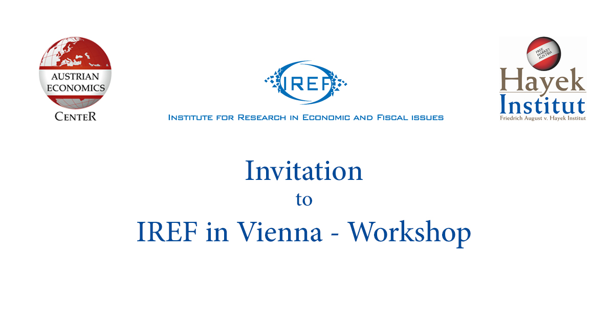 Invitation IREF Workshop