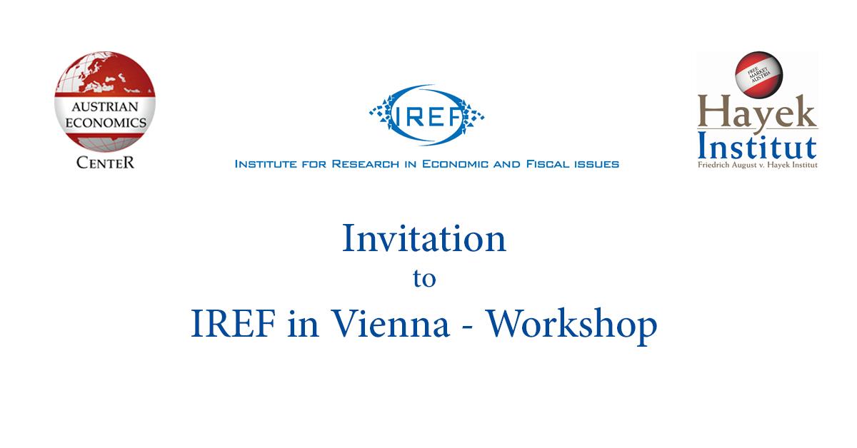 Invitation IREF Workshop