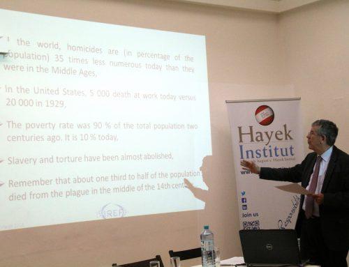 IREF besucht Hayek Institut