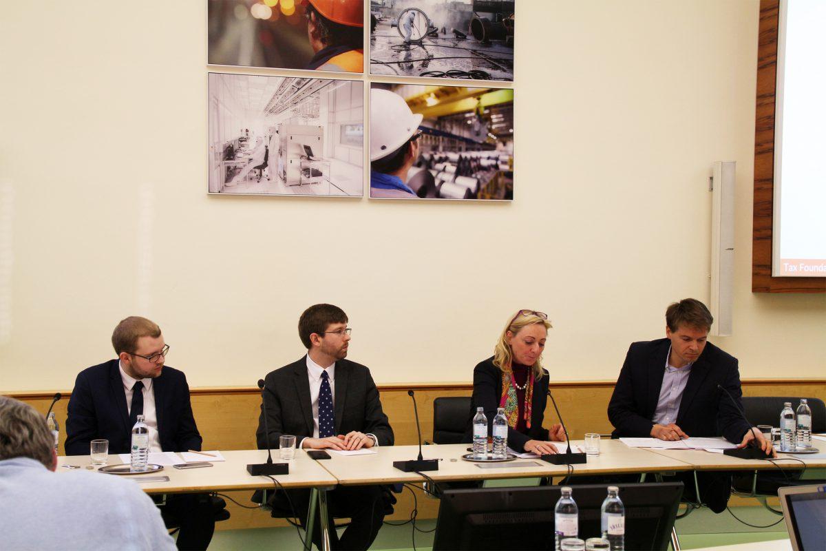 Panel Studie zur Steuerreform